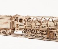 Stoomlocomotief modelbouw 1