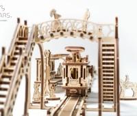Tramlijn modelbouw 3