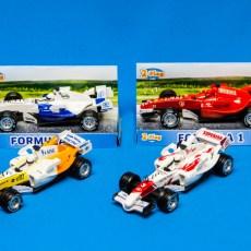 Formule 1 auto rood/wit
