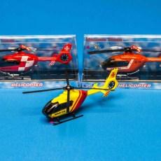 Reddingshelicopter oranje