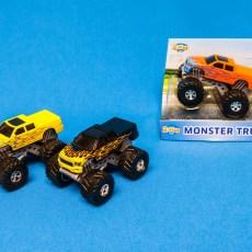 Zwarte Rally Monster Truck 4x4
