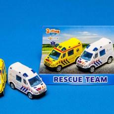 Ambulance en politieauto