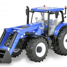 New Holland T6.180 tractor met voorlader