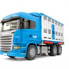 Scania R-serie veewagen met koe
