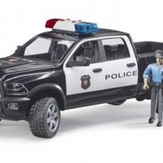 RAM 2500 Dodge Power Wagon politie pick-up met agent