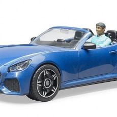 Roadster met bestuurder