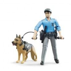 Agent met politiehond