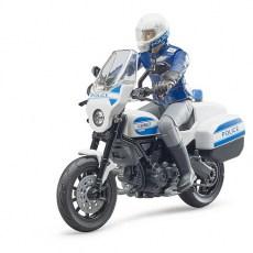 Politiemotor met agent