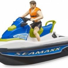 Waterscooter met figuur