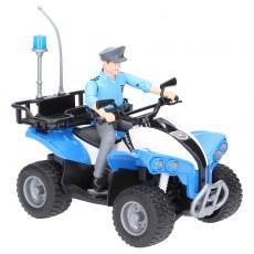 Politiequad met agent