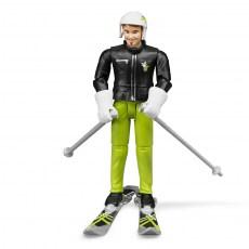 Man op ski s