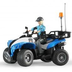 Politiequad met agente
