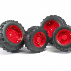 Vier rode tractorbanden 2000 serie