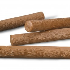 4 extra lange boomstammen