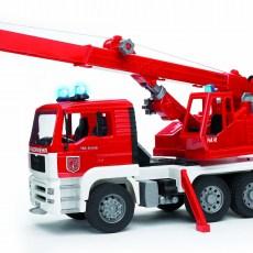 MAN brandweer kraanwagen