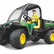 John Deere Gator met chauffeur