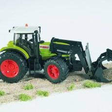 Claas Atles tractor met voorlader