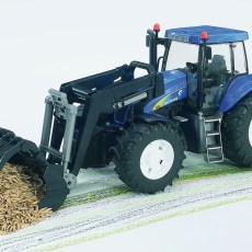 New Holland T8040 met voorlader