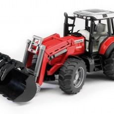 Massey Ferguson 7480 tractor met voorlader