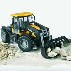 JCB Fastrac 3220 tractor met voorlader