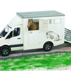 Mercedes-Benz Sprinter paardentrailer