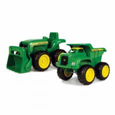 Set van John Deere Tractor en Dumper