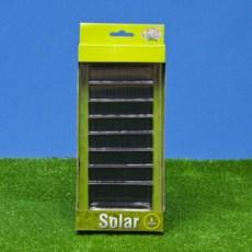 Zelfklevende zonnepanelen 8 stuks