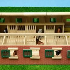Paardenstal met 9 boxen
