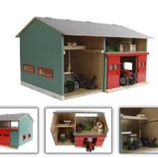 Werkplaats met zolder en schuur