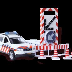 Politieauto Volvo C90 met bebakeningswagen