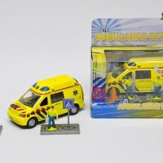 Ambulance met 2 broeders