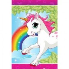Unicorn vloerkleed met twinkelende led lichtjes