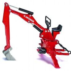 A.Moser graafmachine voor achteraanbouw tractor
