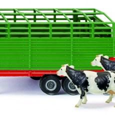 Veetrailer met 2 koeien