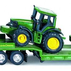 Dieplader met John Deere tractoren