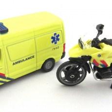 Ambulanceset NL met busje en motor