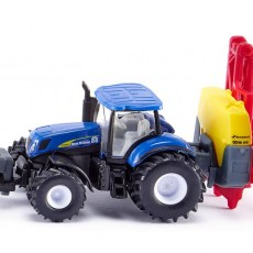 New Holland tractor met veldspuit