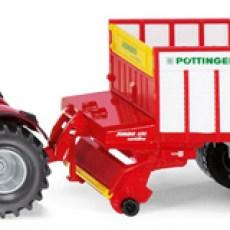 Massey Ferguson tractor met Pottinger Jumbo