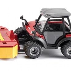 Aebi TerraTrac Tractor met frontmaaier