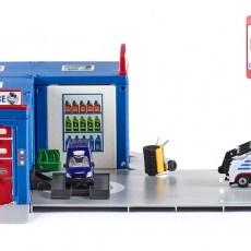 Autogarage met werkplaats