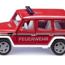 Duitse Mercedes-Benz AMG brandweerauto