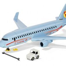 Vliegtuig met accessoires