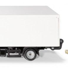 MAN vrachtwagen van UPS met laadklep en accessoires