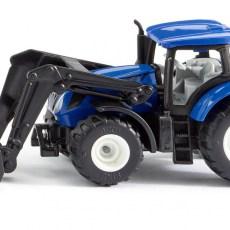 New Holland tractor met voorlader