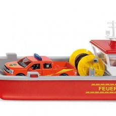 Brandweer boot met Ford
