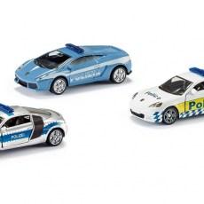 Set van 3 politieautos