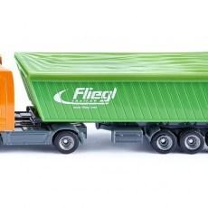 Mercedes-Benz vrachtwagen met trailer