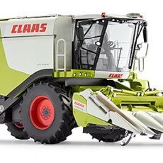 Claas Lexion 760 met Conspeed maiskolvenplukker