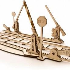 Spoorwegovergang + 4m rails modelbouw