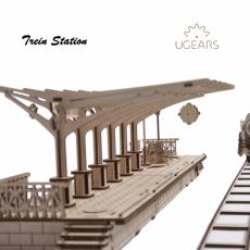 Treinstation modelbouw